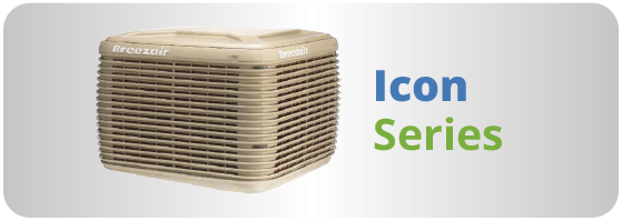Climatizador evaporativo breezair modelo icon series