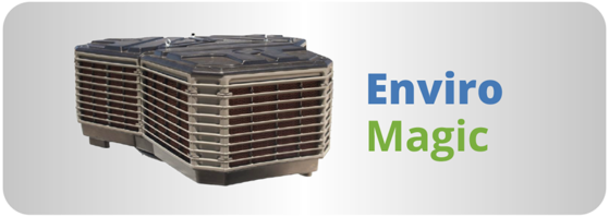 Climatizador evaporativo breezair modelo Enviro Magic
